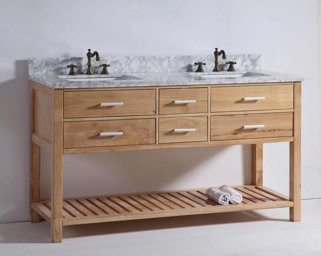 Wood Nu0027t You Like A More Natural Look? Wood Bathroom Vanity Trend 2016