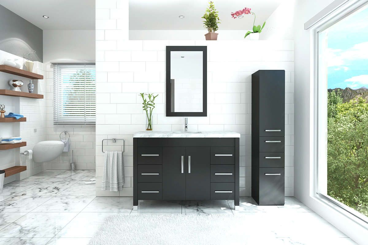 Dealing With Bathroom Vanity Water Damage