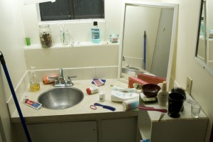 Newlywed Tips for Sharing a Bathroom