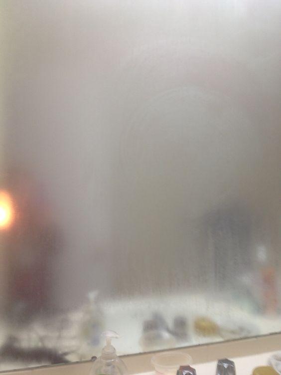 foggy bathroom mirror ventilation