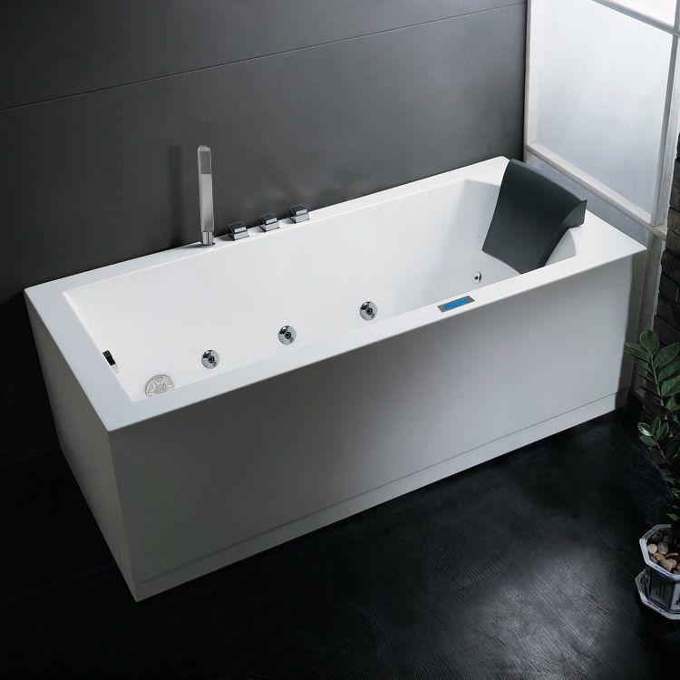 bathtub buying guide modern whirlpool bathtub white