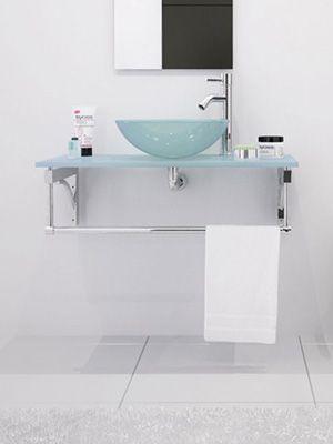 aries wall mounted bathroom vanity