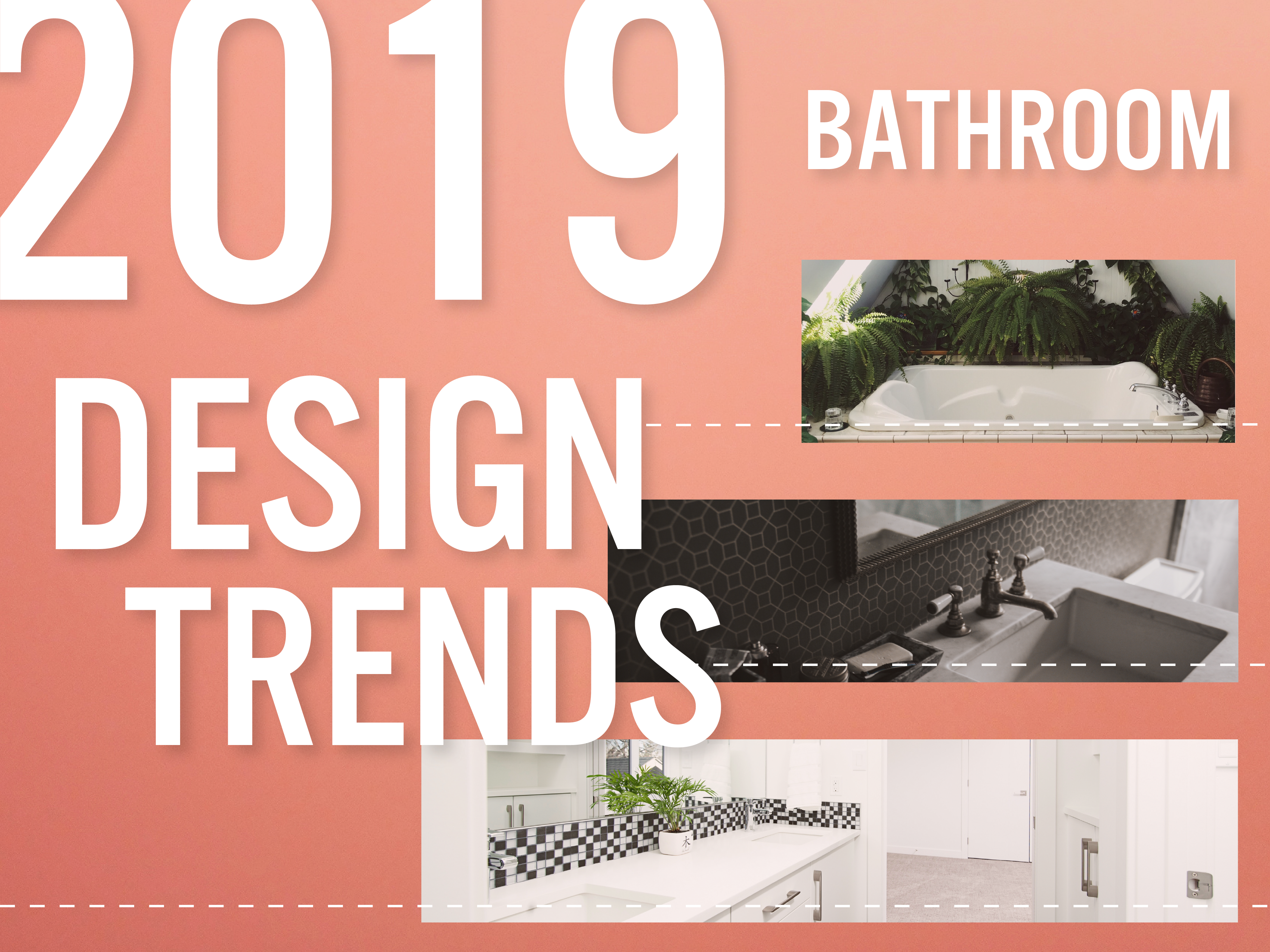 bathroom design trends of 2019 splash image pantone living coral color of the year