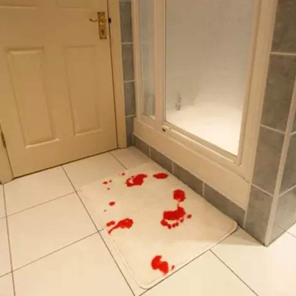 Bloody Bath Mat for Halloween Decoration!