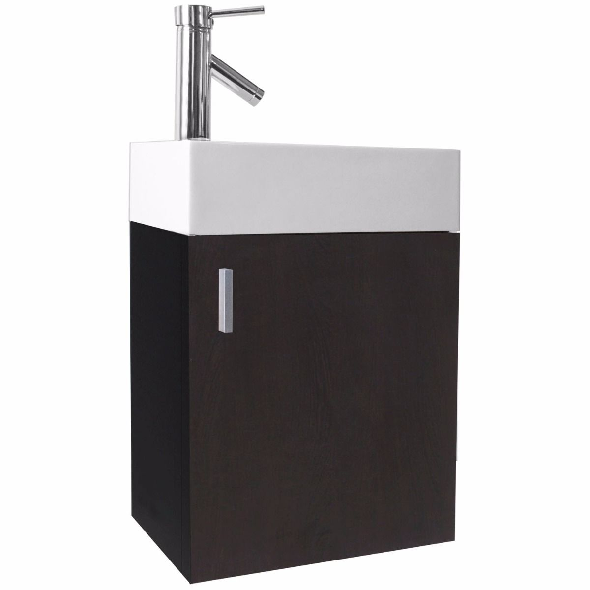 Carino Shallow Single Bath Vanity U2013 10 1/3u2033 Depth