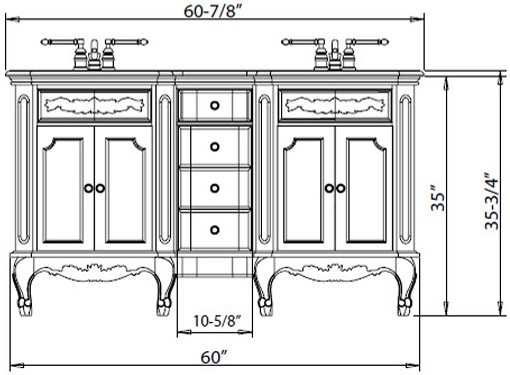 Height Bathroom Vanities: A Shift to the New Standard
