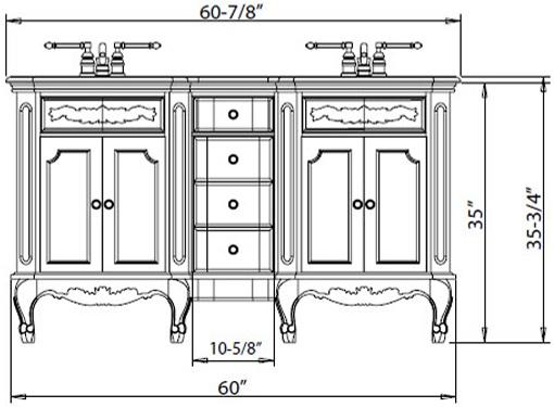 Comfort Height Bathroom Vanities: A Shift to the New Standard