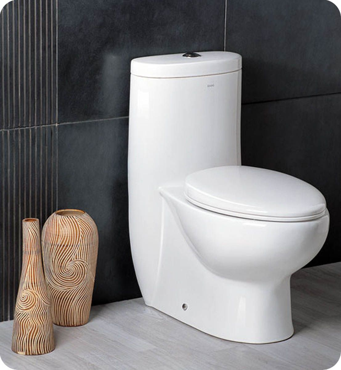 The Delphinus dual-flush toilet is an elegant and eco-friendly way to be more green in your bathroom