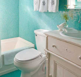 How to Make a Small Bathroom Look Bigger: Part 1