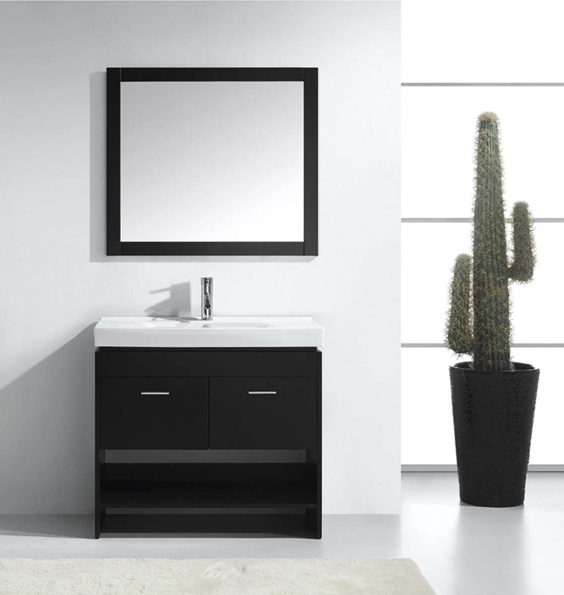 Gloria Modern Vanity from Virtu USA – 18.1″ Depth