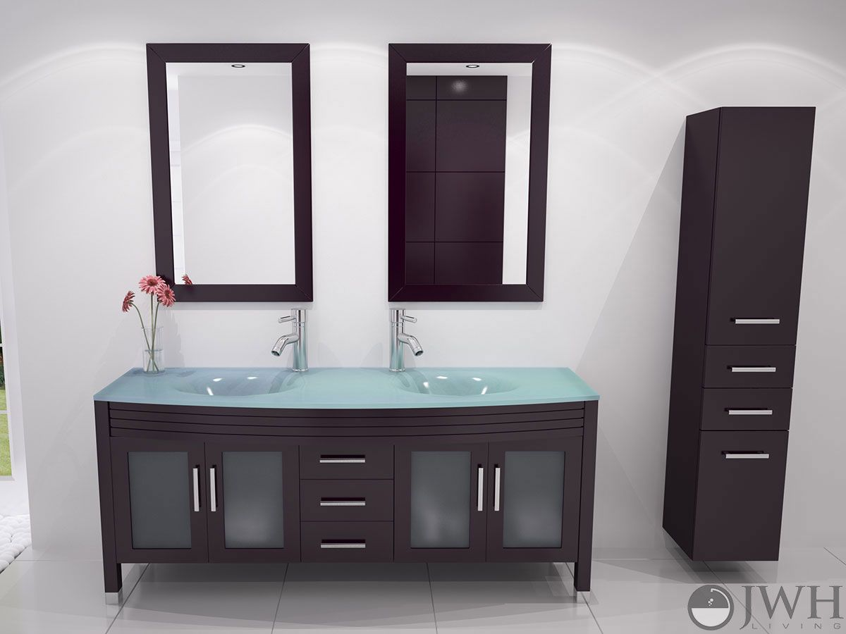 How to get the designer look for less bathroom tips for Best prices on bathroom vanities