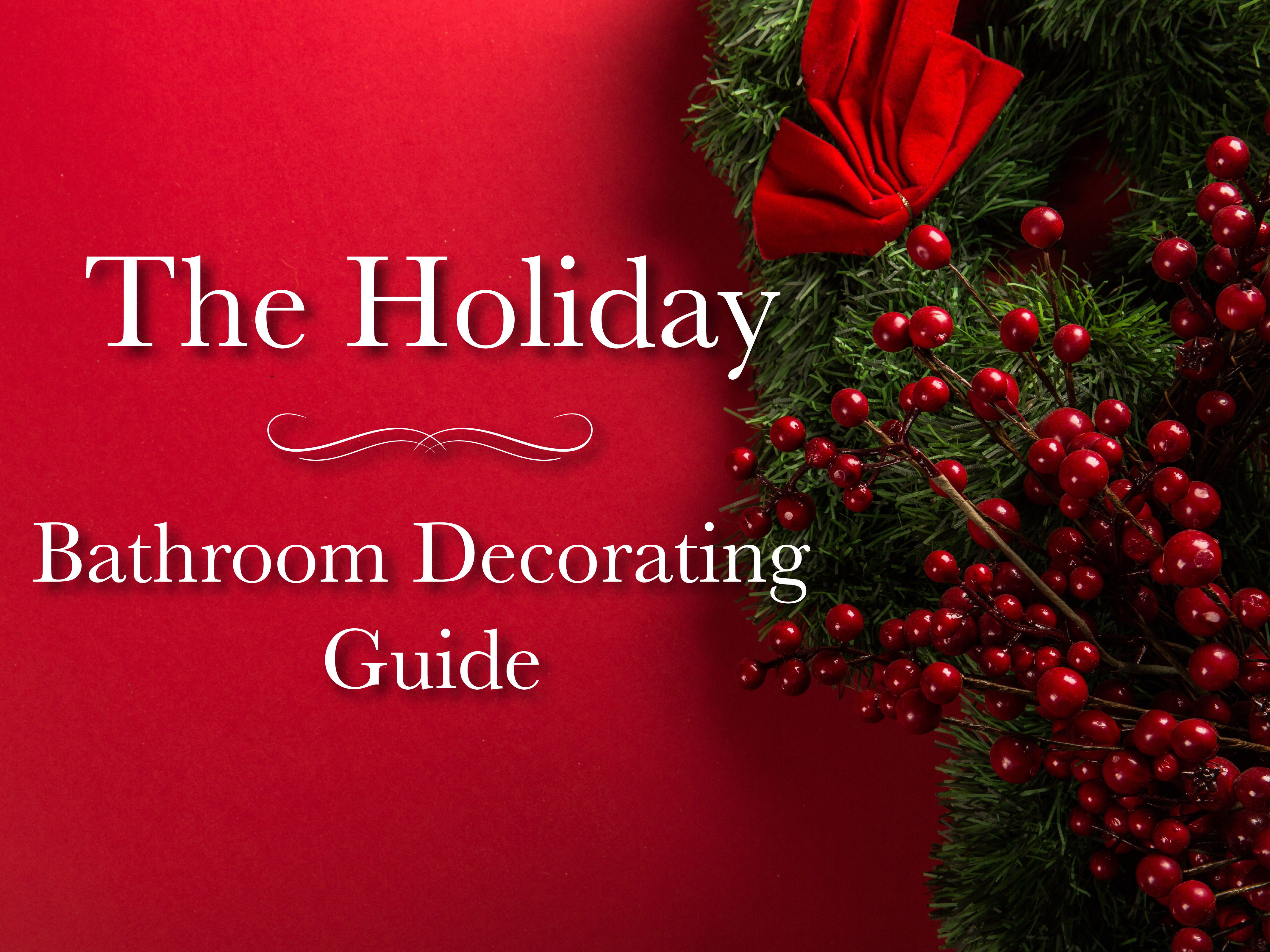 Your Guide To Holiday Bathroom Decorating Tradewinds Imports