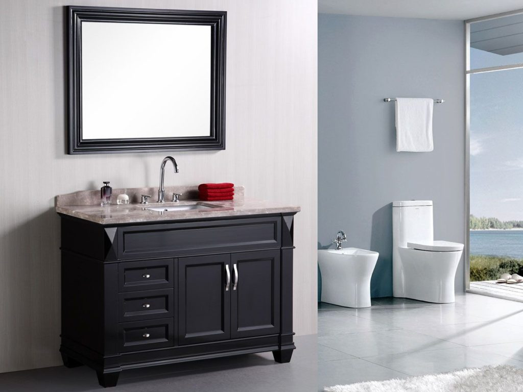 What The Heck Are Transitional Bathroom Vanities Anyway Bathroom Ideas And Inspiration The Tradewinds Imports Blog