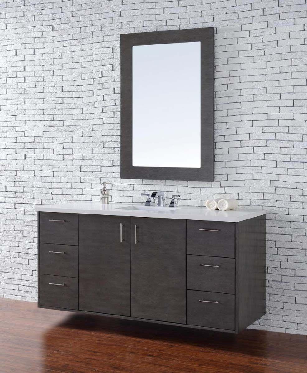 Integrated sink bathroom vanities inspired by design for Bathroom vanity with integrated sink
