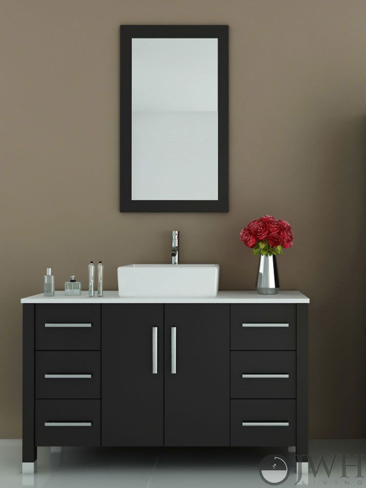 Eco Friendly Low Voc Formaldehyde Bathroom Vanities