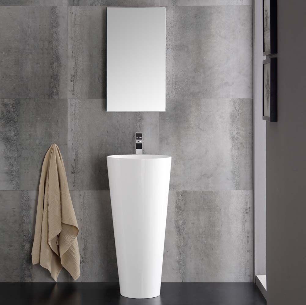 Narrow Bathroom Vanities With 8 18 Inches Of Depth