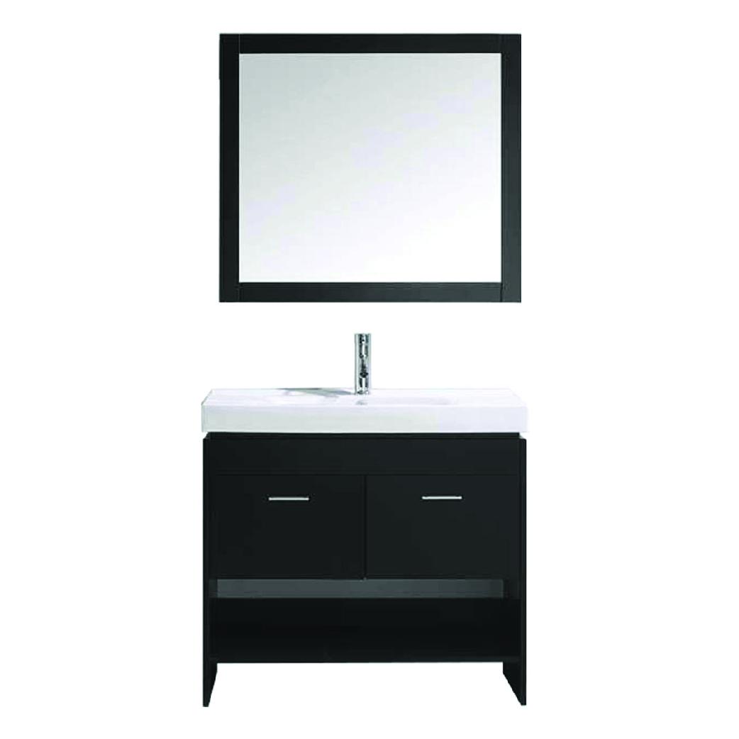 gloria single bathroom vanity in espresso