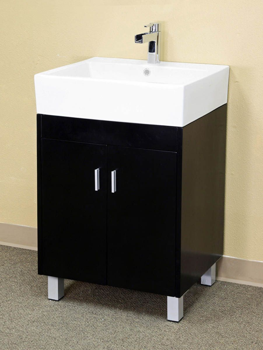 narrow bathroom vanities with 8 18 inches of depth. Black Bedroom Furniture Sets. Home Design Ideas