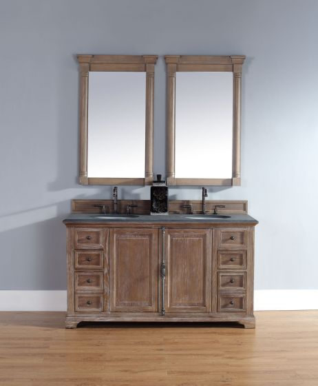 Providence Double Vanity Cabinet Driftwood