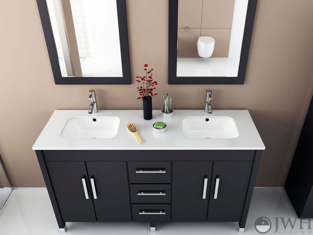 Jwh Living Introduces New Line Of Undermount Bath Vanities