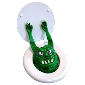 Halloween Decoration Ideas: Toilet Monster!