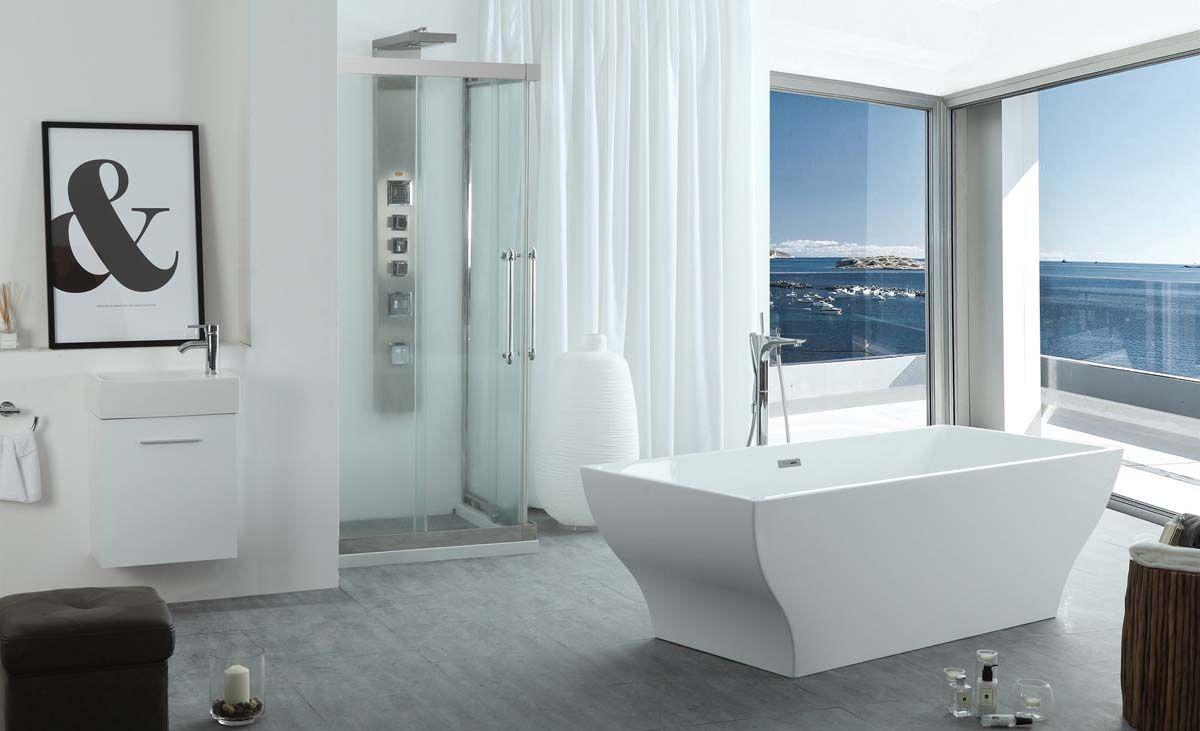 bathtub buying guide serenity free standing soaking bathtub